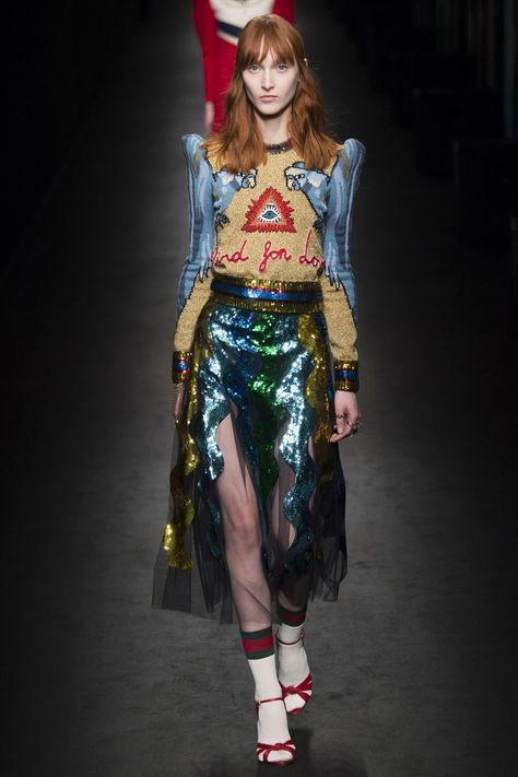 awesome Gucci Fall 2016 Ready-to-Wear Fashion Show - Vogue
