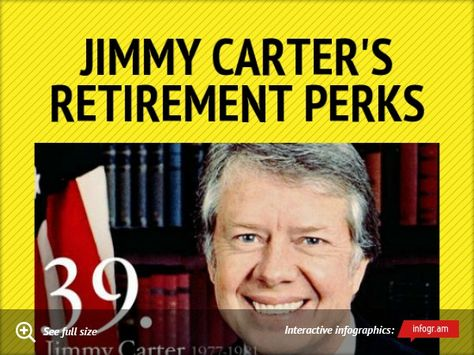 Jimmy Carters Retirement Perks