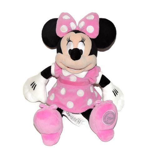 50 cm Disney Doudou Red Dress Minnie