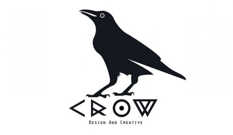 The crow logo decal crows logos and products sciox Choice Image