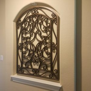 The Look Of Wrought Iron For Wall Decor Wrought Iron Wall Decor