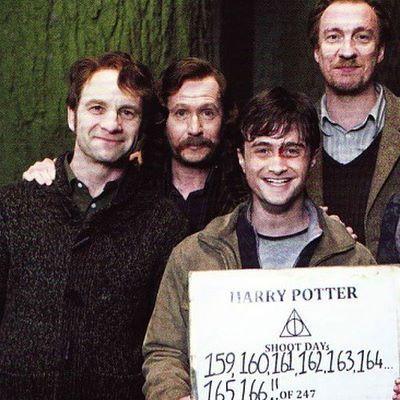 Behind The Scenes Harrypotter Regram Via Harrypotter Harry Potter Universal Harry Potter Cast Harry Potter Obsession
