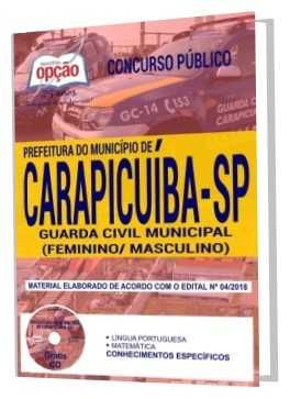 Apostila Concurso Guarda Civil Municipal De Carapicuiba 2018