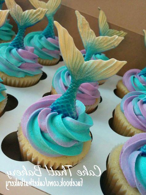 Disney Wedding Cake Awesome Mermaid Tail Cupcakes Cakes Pinterest
