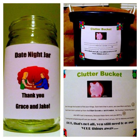 We started the Clutter Bucket today Im hoping it will