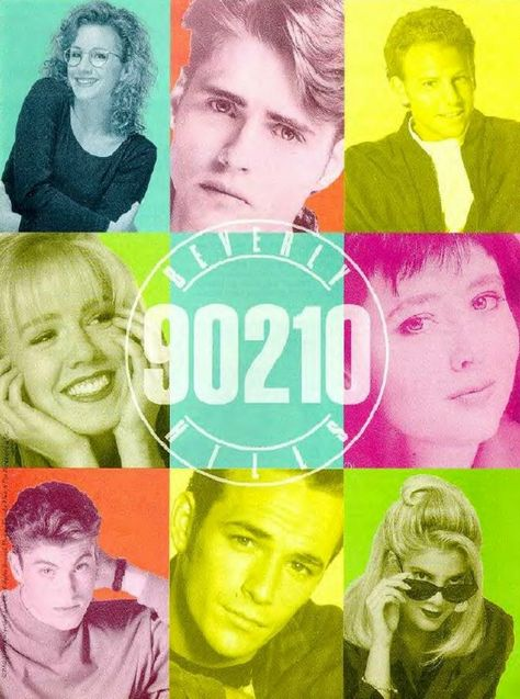 Beverly Hills 90210 (1990–2000) - Originally based around the lives of a group of high school students living in the wealthy Beverly Hills neighborhood, then later moving on to their college days as they got older. The kids become friends and enemies, fall in and out of love, and go through an endless series of crises as this small group somehow becomes personally involved in every newsworthy social issue from alcoholism to South African apartheid to pregnancy to AIDS.