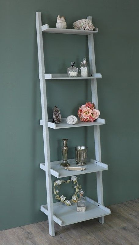 timeless design 09238 149ad Angela Wooden Ladder Bookcase | Home decorating in 2019 ...