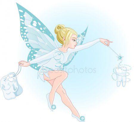 Hada Con Varita Magica Archivo Imagenes Vectoriales Tooth Fairy Images Tooth Fairy Illustration