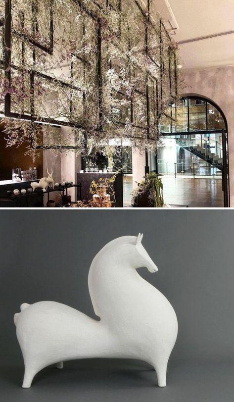 Sculptures - Horse and Gazelle