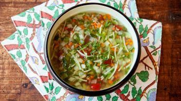 Eenvoudige en lekkere groentensoep