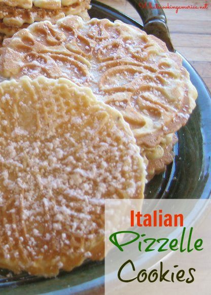 Pizzelles are also known as italian wafer cookies and there are various ways which to spell pizzelle such as piazelle, piazella, pizzele and pizelle.