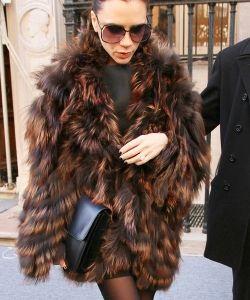 Victoria Beckham with Celine Large Box Flap Bag