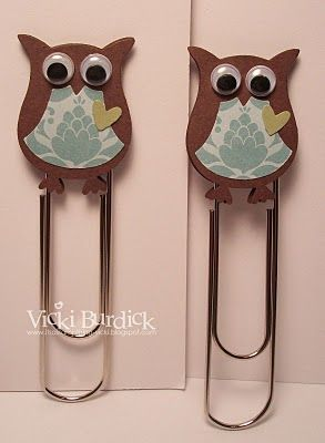 owl clip - my offfice colors