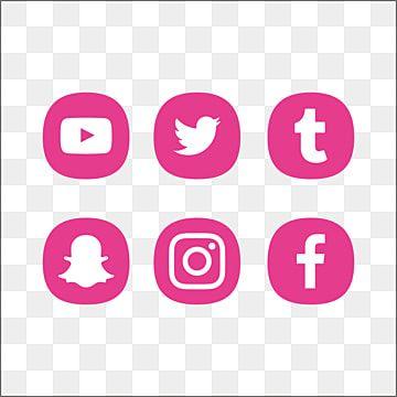 Logotipo Rosa Para Redes Sociais Logo Do Facebook Snap Chat Insta Png Imagem Para Download Gratuito In 2021 Logo Design Free Templates Instagram Logo Logo Design Free