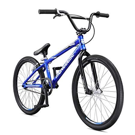 Mongoose Title 24 Bmx Race Bike For Beginner Or Returning Riders Featuring Lightweight Tectonic T1 Aluminum Frame And Internal Cable Routing With 24 Inch Wheel 24 Bmx Racing Bikes Bmx Bikes