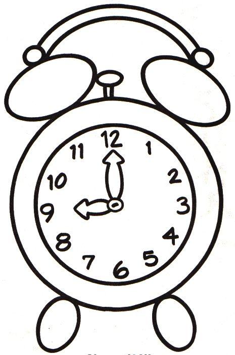 Menta Mas Chocolate Recursos Y Actividades Para Educacion Infantil Dibujos De Ele Paginas Para Colorear Actividades De Arte Para Preescolares Relojes Dibujo