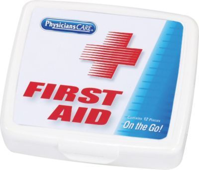 First Aid Only 13 Pc First Aid Kit For 1 Person 90101 Staples Mini First Aid Kit First Aid Fashion Survival