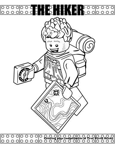 Minifigures Series True North Bricks Lego Coloring Pages Coloring Pages Doodle Coloring