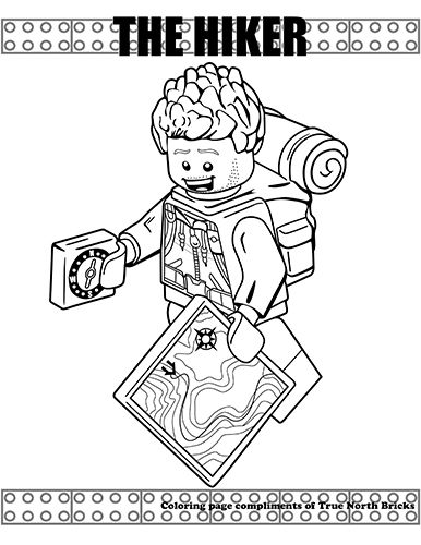 Minifigures Series Lego Coloring Pages Coloring Pages Coloring