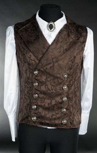 Affordable goth, victorian and steampunk clothing and corsets Victorian Mens Clothing, Victorian Mens Fashion, Victorian Shirt, 1800s Fashion, 19th Century Fashion, Steampunk Clothing, Steampunk Fashion Men, Medieval Clothing Men, 1800s Clothing