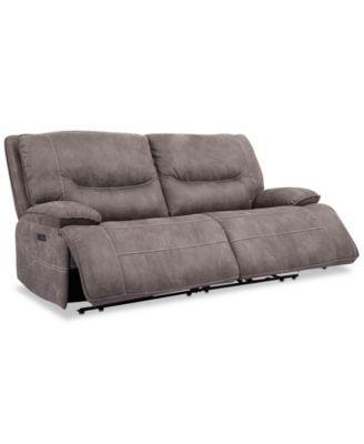 Phenomenal Felyx 84 2 Pc Fabric Power Reclining Sofa With 2 Power Machost Co Dining Chair Design Ideas Machostcouk