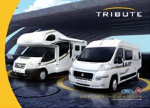 The New 2017 Tribute Motorhome Range Shows Outstanding Details Throughout Interior Exterior Including Both Van Conversion Motorhomes And Coachbuilt