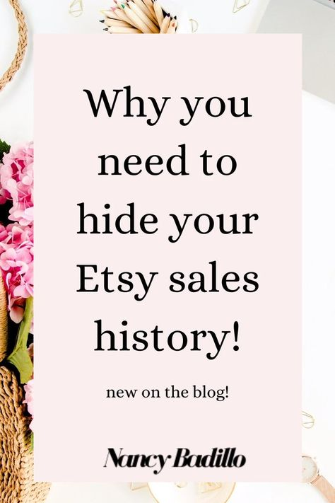 Etsy Sales