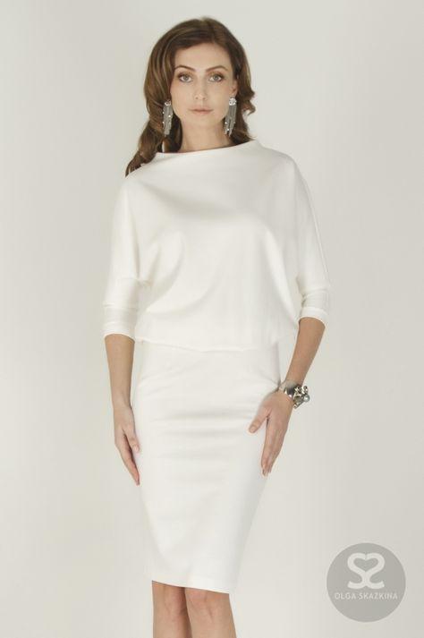36049078a78 Платье со свободным верхом купить в интернет-магазине дизайнера ...