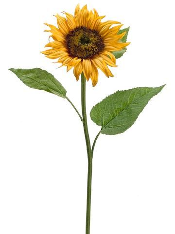 Fake Sunflower In Golden Yellow 6 Bloom In 2020 Fall Flowers Fall Flower Arrangements Silk Flowers