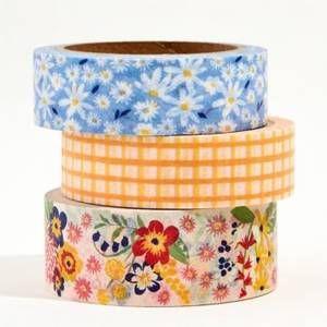 Teapot Washi Tape  Orange Tea Washi  Decorative Masking Tape for Mailing