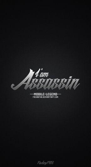 Wallpaper Phone Role Assassin Mobile Legend By Fachrifhr Logo