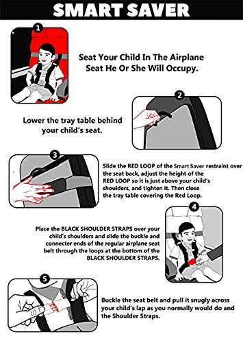 b1c1a0f0f508 Amazon.com : Child Safety Harness Airplane Travel with Free Carry ...