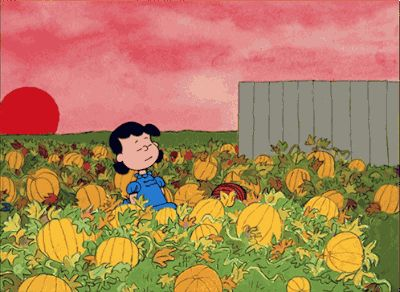 We could not be more excited to share this Halloween edition of Flannel Friday. Everyone has been working so hard! This post is LOADED wit. Peanuts Halloween, Halloween Gif, Halloween Photos, Vintage Halloween, Halloween Cartoons, Halloween Wallpaper, Great Pumpkin Charlie Brown, It's The Great Pumpkin, Charlie Brown And Snoopy