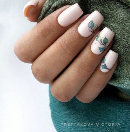 Best Fresh And Cool Leaf Nail Designs Fashion 2d Swag Nails Nail Designs Fashion Nails