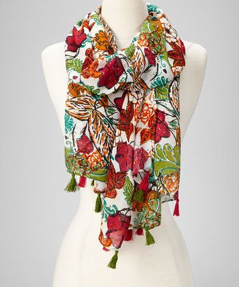 15aa9f1a2 Fashion Floral Abstract Design Lightweight Spring Summer Scarfs for Women#Abstract,  #Design, #Fashion