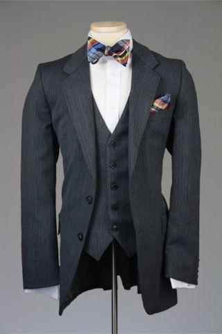 52b03ac23f6 Yves Saint Laurent 3 Piece #Wedding Suit #YSL #groom #suit | 3 Piece Suits  in 2019 | Vintage wedding suits, 3 piece suits, Suits