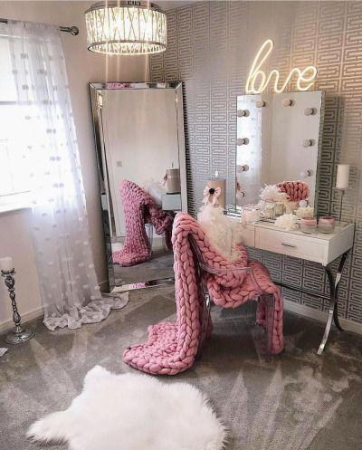Luxury Tumblr Dressing Room Decor Stylish Bedroom Glam Room