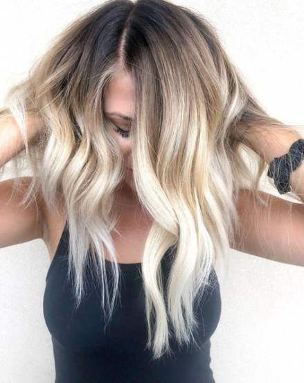57 Ideas Hair Trends Blonde Dark Roots Blonde Hair With Roots Coconut Hair Hair Styles