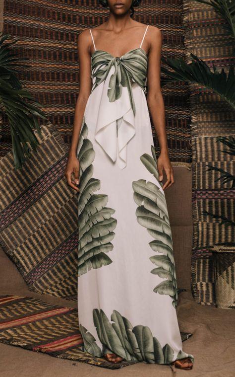 Mondo Bridal - Johanna Ortiz - Holy Earth Silk Georgette Dress