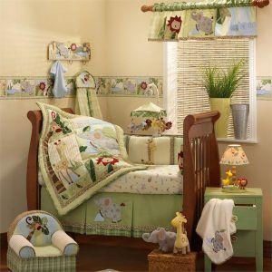 Zoo Animal Crib Bedding Sets Baby Nursery Room Design Safari Baby Bedding Baby Crib Bedding Sets