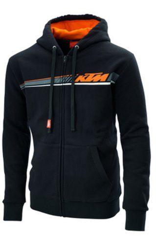 c56f5dc38743 Fox Racing Honda Zip Hooded Sweatshirt Black