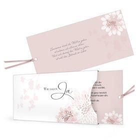 Extravagante Hochzeitseinladung Mit Eleganten Blutenmuster Hochzeitseinladung Romantische Hochzeitseinladungen Einladungen Hochzeit