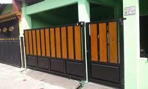10 Gambar Pagar Besi Minimalis Kombinasi Woodplank | Minimalis, Ide Pagar,  Rumah