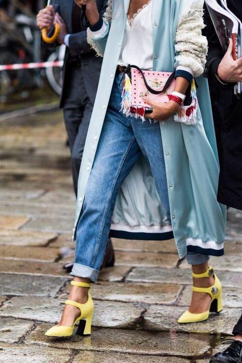 Beautiful Looks in Low Heels | Jolis looks avec des talons bas à voir absolument! #style