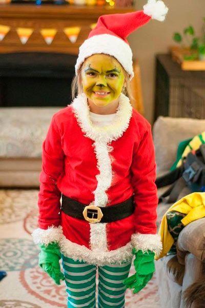 Los Disfraces Caseros Para Navidad Más Originales Trucos Y Astucias Disfraz Del Grinch Disfraces De Navidad Disfraces