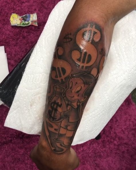 top of right arm