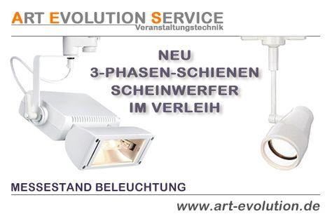 Superb Die perfekte Messestand Beleuchtung Siehe Art Evolution Service Lichttechnik Scheinwerfer http u Pinteres u