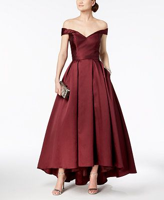 d0de0b4fe8537 Shop XSCAPE Off-The-Shoulder Sweetheart Gown online at Macys.com. A  décolletage-highlighting sweetheart neckline starts this regal Xscape ball  gown fit for ...