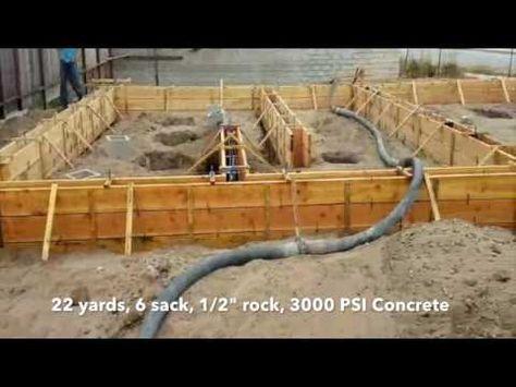 Installation Concrete Formwork For Foundation Girder Construction Building Foundation Youtube Concrete Formwork Board Formed Concrete Building Foundation