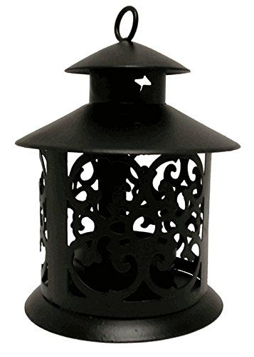 Amazon Com Decorative Glassless Black Candle Lantern 5 Height Excellent Home Decor Indoor Outdoor Home Candle Lanterns Lanterns Lantern Candle Decor Outdoor candle lanterns for sale